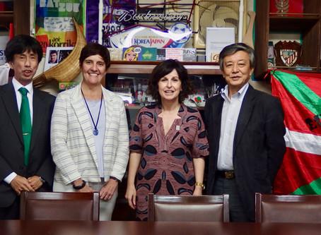 バスク自治州政府代表団が東京バスクの家を訪問
