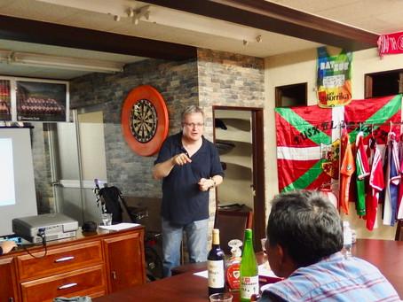 バスク人ジャーナリストのヨセバ・エチャリ(Joseba Etxarri)氏、来日