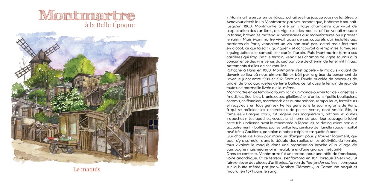 MONTMARTRE À LA BELLE ÉPOQUE -1-