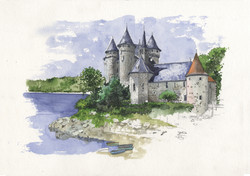 AUVERGNE - CANTAL - chateau du Val.jpg
