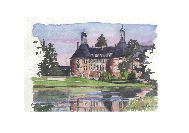 BOURGOGNE - YONNE - chateau de st Fargeau.jpg