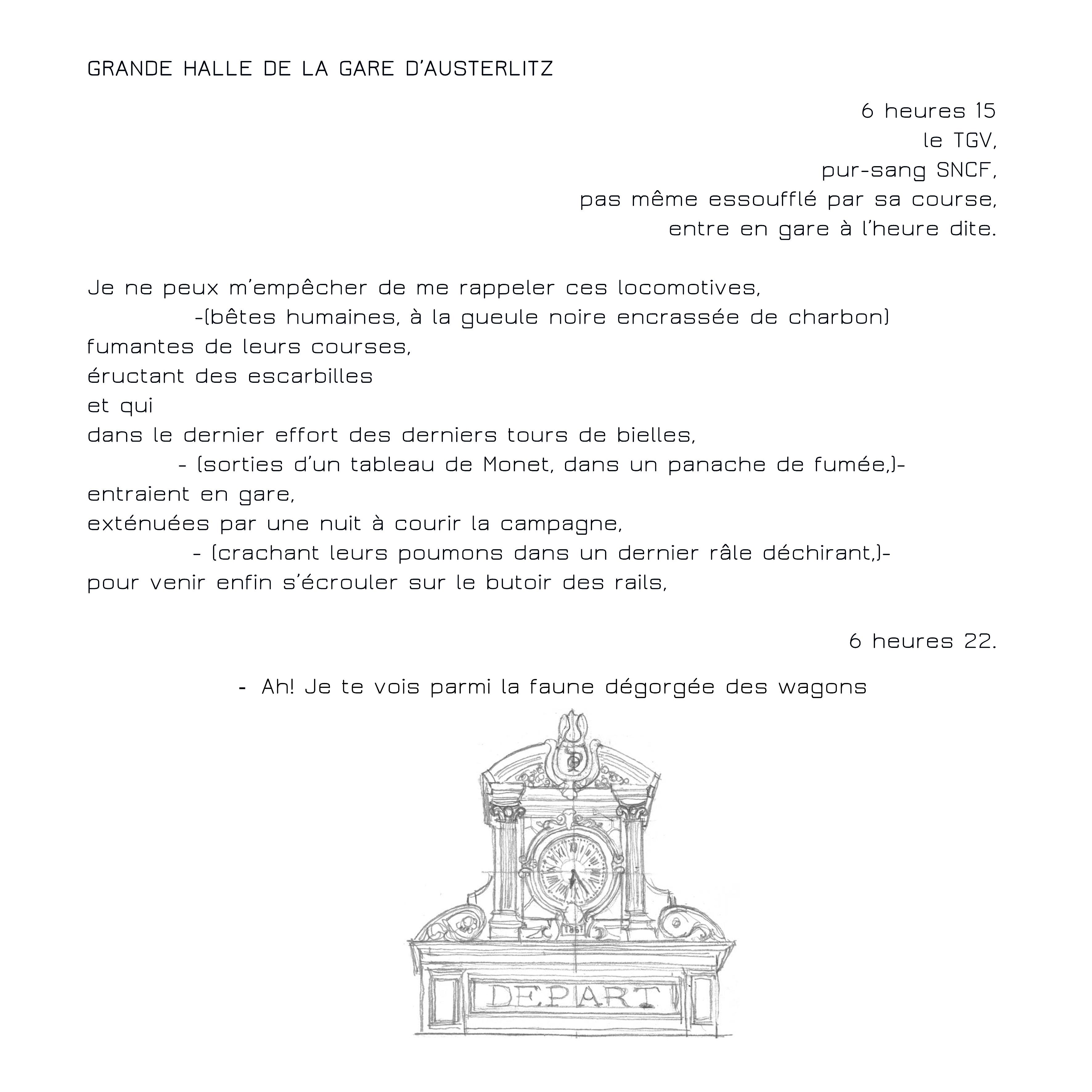 HALLE DE LA GARE D'AUSTERLITZ-