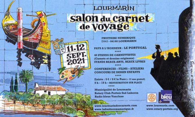 SALON DU CARNET DE VOYAGE DE LOURMARIN