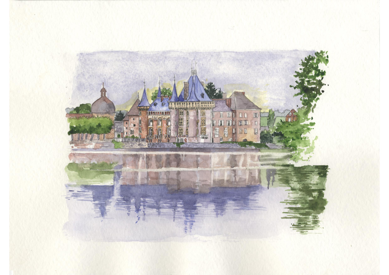 BOURGOGNE - SAONE ET LOIRE - chateau de la clayette.jpg