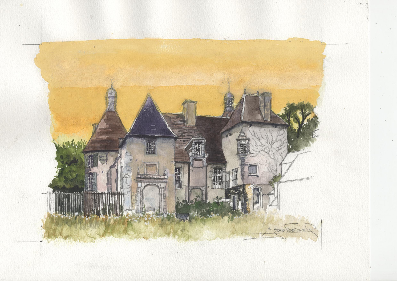 AUVERGNE - ALLIER - chateau de  de Bostz.jpg
