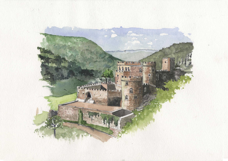 AUVERGNE - ALLIER - chateau de Chouvigny.jpg