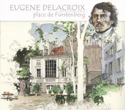 10-DELACROIX-place de Furstenberg