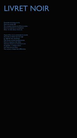AMERE BEAUTE-livret noir