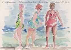 les femmes du bord de mer