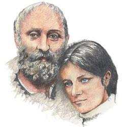 Cesar et Rosine Baldaccini