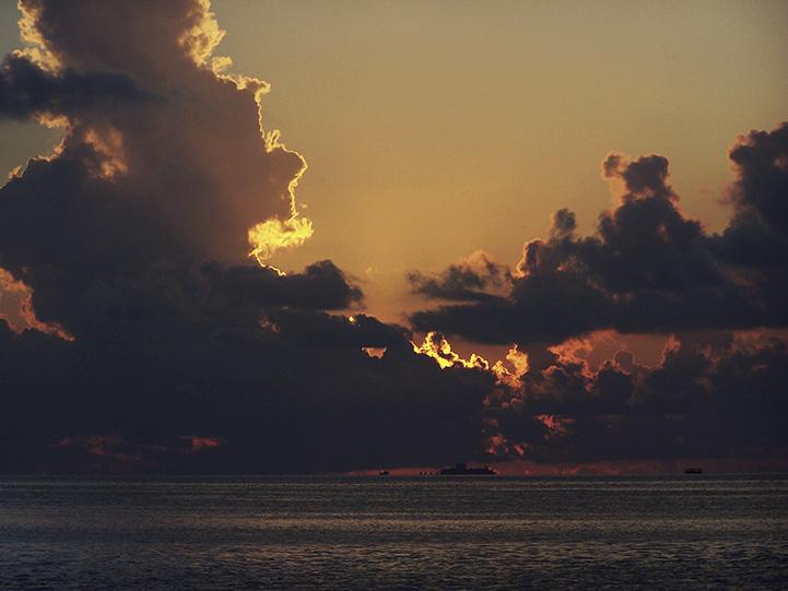 Sonnenuntergang, Malediven