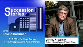 E27: What's Next Series | Jeffrey K. Walker - From Vetrepreneur to Authorpreneur