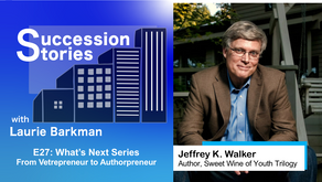 E27: What's Next Series | Jeffrey K. Walker - From Vetrepreneur to Authorpreneur