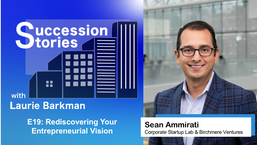 E19: Rediscovering Your Entrepreneurial Vision - Sean Ammirati