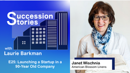 E25: Launching a Startup in a 90-Year Old Company - Janet Wischnia