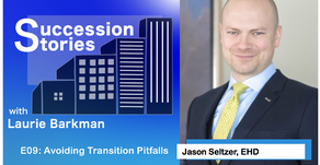 E09: Avoiding Transition Pitfalls - Jason Seltzer, EHD