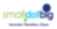SmallDotBig logo. Innovate, Transition, Grow