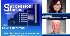 E06: Succession and Innovation as 6th Gen Entrepreneur with Michael Schoedinger and Jill Hofmans