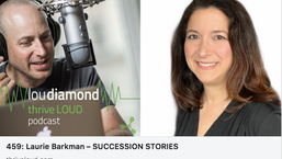 Podcast appearance: Thrive Loud with Lou Diamond