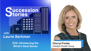E24: Introducing the What's Next Series | Cheryl Fields