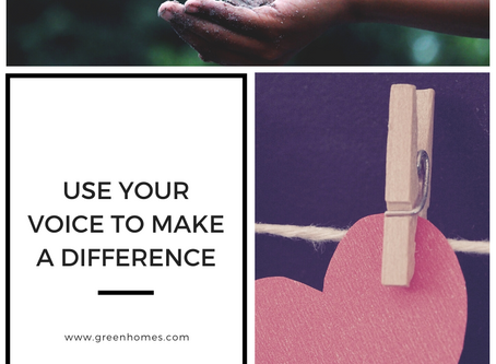 Use Your Voice To Make A Difference
