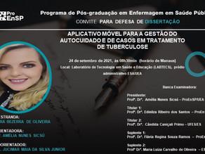 Defesa de Dissertação: Mestranda Lara Bezerra de Oliveira