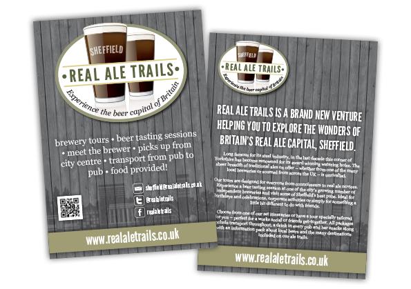 Real Ale Trails Leaflet Design