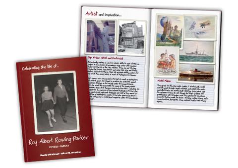 Funeral Programme Booklet Design