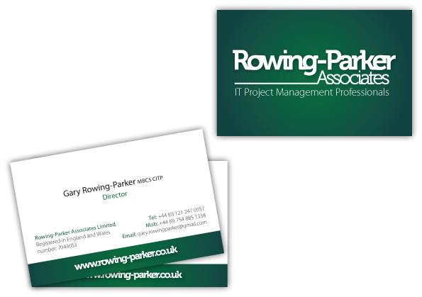 Rowing-Parker Associates Business Card Design