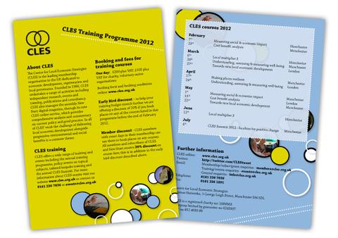 CLES Leaflet Design