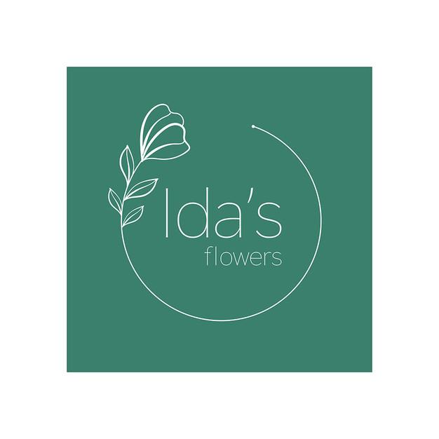 Ida's Flowers Logo