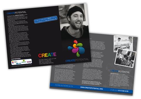 CREATE Leeds Leaflet Design
