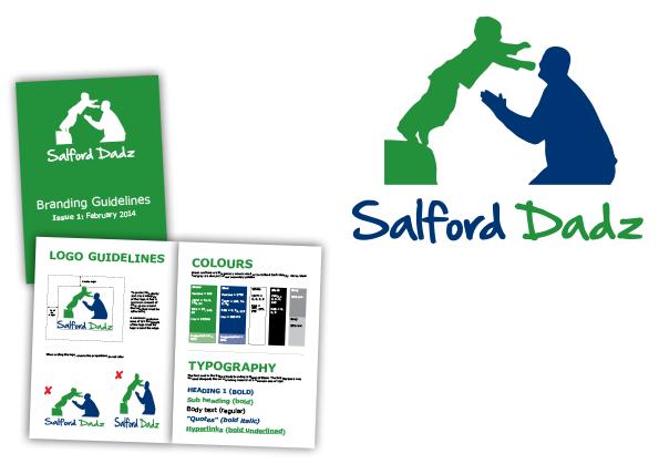 Salford Dadz Logo Design