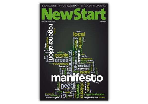 New Start Magazine Cover Design