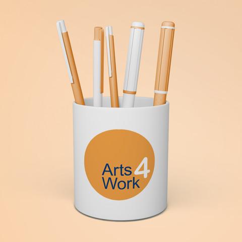 Arts4work Logo Design