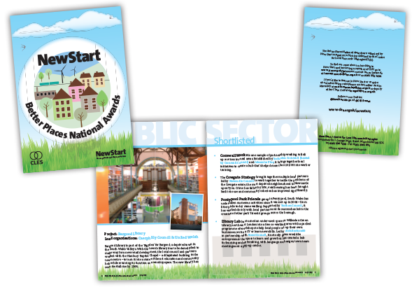 Better Places National Awards Programme Booklet Design