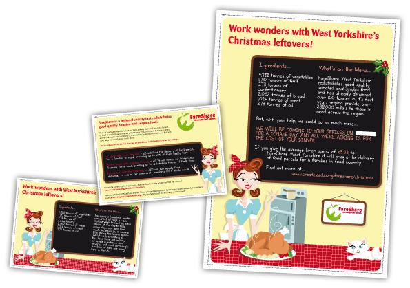 FareShare Leaflet Designs