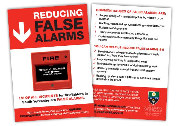 South Yorkshire Fire & Rescue Leaflet Design