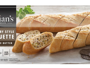 Julian's Recipe Introduces Country Style Truffle Butter Baguette