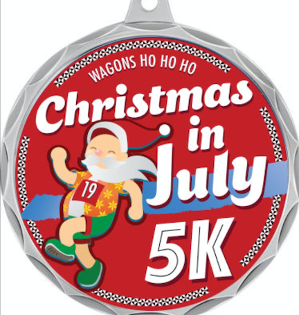 Wagons Ho Ho Ho Hosts 2nd Annual Christmas in July 5k Walk & Fun Run