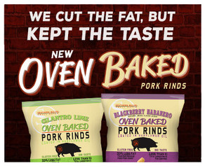 Southern Recipe Small Batch Extends Product Line with the Debut of New Baked Pork Rinds