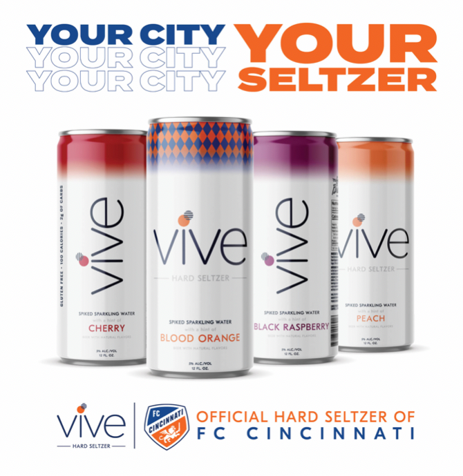 VIVE Hard Seltzer from Braxton Brewing