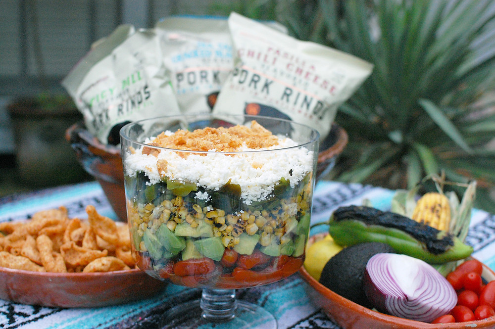 Fire Roasted Hatch Chile Salad
