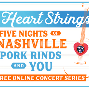Southern Recipe Small Batch Pork Rinds Streams Live Concert Series to Celebrate Hope in Nashville