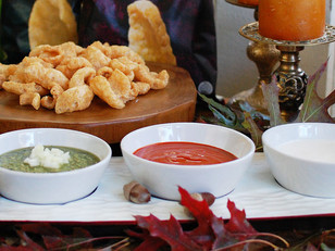 trio of thanksgiving dips