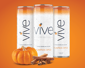 VIVE Spices Up the Season with New Pumpkin Spice Hard Seltzer