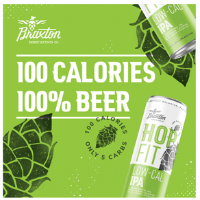 Braxton Brewing Launches Low-Calorie IPA