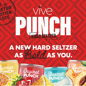 VIVE Hard Seltzer Launches PUNCH Throughout Texas