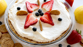 Lemon Pie with Organic Ginger Thins Crust - Janis and Melanie