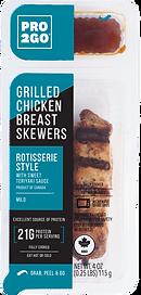 Pro2Go Rotisserie Style Chicken Skewer